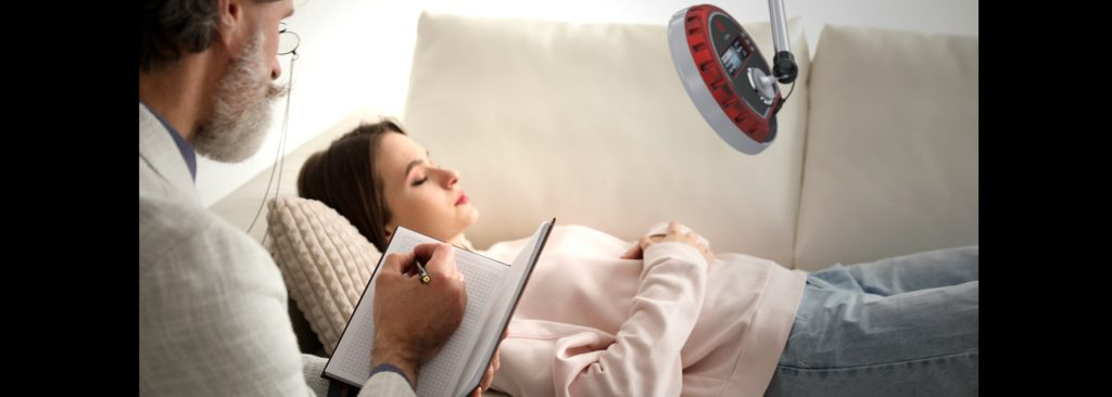 Hypnotherapy with the roXiva RX1